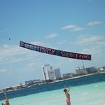  Plane advertisement we saw while on the beach