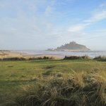St Michael's Mount from Marazion Marsh