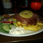  Gammon and chips was amazing