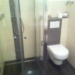 Beautiful brand new, spotlessly clean bathroom