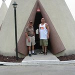 At our Tee Pee Room