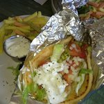 George's Place, chicken gyro