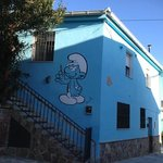  smurf house