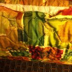 Dated and Ripped/Worn Bedspread