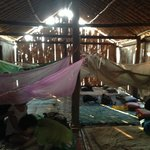 Accommodations on the two night jungle trek in a hill tribe village