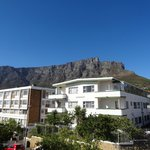 Table Mountain from the terrace of Room 1