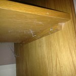 under side of bedside cabinet