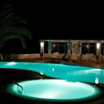  La (froide) piscine de nuit