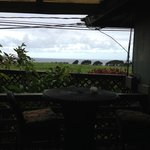  View of ocean from patio