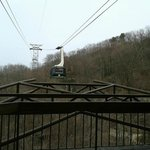 aerial tram from Uber Gatlinburg