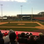 Buffalo Bisons VS W-Barre-Scranton RailRiders 4-14-2013