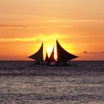Paraw Sailing Boat