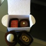 Scrummy chocolates