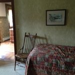 Raspberry Room (room 1 in the Barn)
