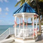 gazebo at Villa Beach
