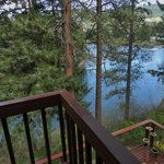 View from River Bend Room deck