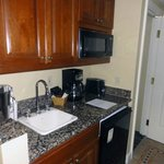  Kitchenette--really only a microwave and sink