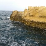Rocky islands just 5 minute walk from Ribat.