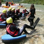 Sport Center Bovec - Hydrospeed - River boogie 1