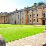 View of Downing College Chapel