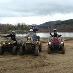  The atv&#39;s were the greatest fun
