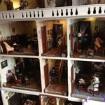 Dolls house display
