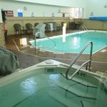 Popular heated pool