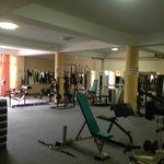 Fantastic gym in basement October 2012
