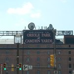 Camden Yards is a 5 minute walk