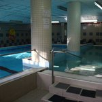  The two pools in the spa area