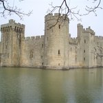  Bodiam Castle, within walking distance.