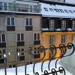 A cute balcony with a lovely view, Best Western, Karl Johan