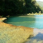  The refreshing pools of Semuc Champey