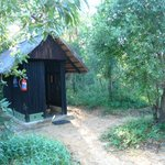 ablution huts - 2 toilets, 2 showers
