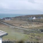  View over the jetty and Jura