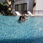 Swim in Pool Area