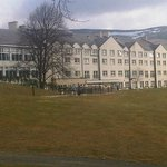  View of hotel from golf course
