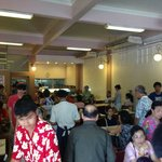 This is a no frills dim sum cafeteria packed with locals and not a tourist in sight!