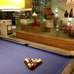  pool table at recreation room