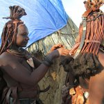 Himba Village in Opuwo, Namibia