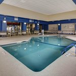 After a long day, relax in our indoor heated pool.