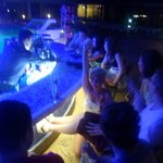 Pool Bar at night, Perfect for some drinks before heading out! Also played decent tunes!