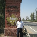  Naru happily re-entering his native Rajasthan with us from the east