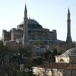View from restaurant rooftop terrace, Hagia Sofia