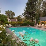 Farmhouse Inn heated pool