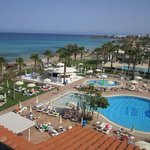 View from room towards Fig Tree Bay