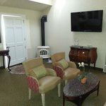 Cottage Suite Fireplace and Television 50 inch
