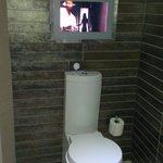 TV in bathroom