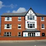  Colwyn Bay Travelodge on a rare sunny day!