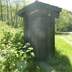 Outhouse at Usal Beach